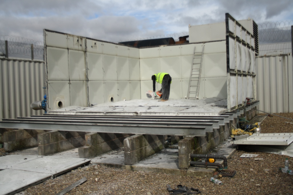 water tank replacement in Whatton